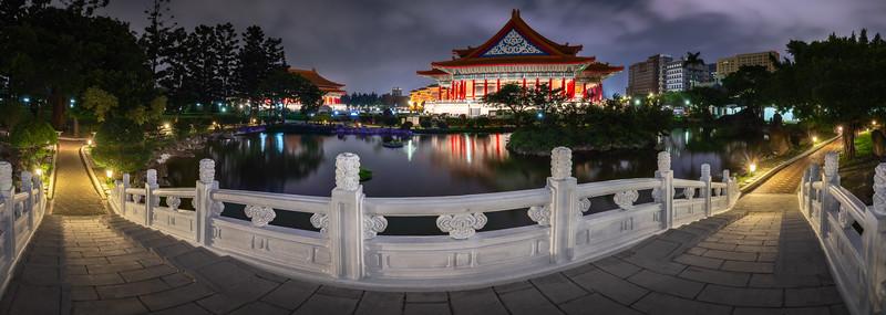 Park at National Concert Hall, Taipei, Taiwan
