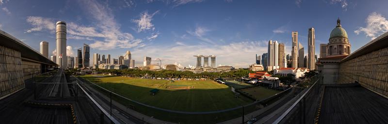 Raffles City & Padang & Raffles Place, Singapore