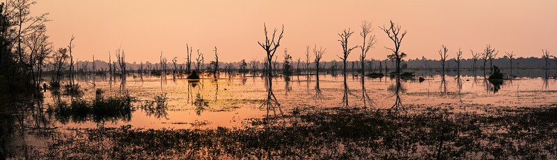 Baray Jayatataka Lake, Siem Reap, Cambodia