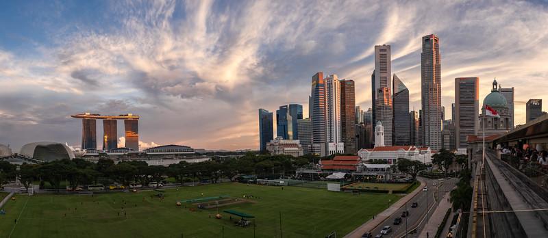 Padang & Raffles Place, Singapore