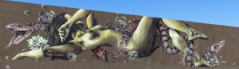 Miami mural, USA