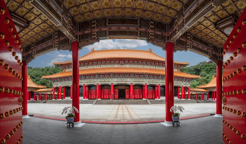 Martyr's Shrine, Taipei, Taiwan