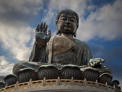 Tian Tan Buddha, Lantau Island, Hong Kong, SAR China