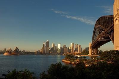 Sydney im Morgenlicht