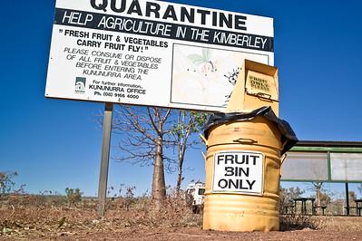 Fruchtfliegenimportverhinderungsmaßnahme