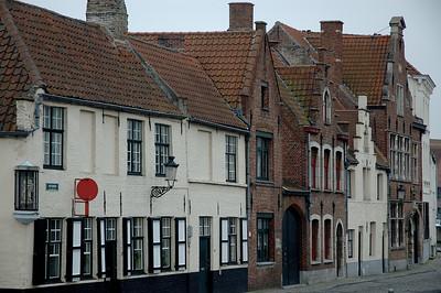 Häuserreihe in Brügge