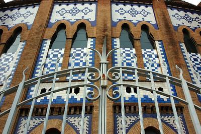 Stierkampfarena Barcelona Eingang