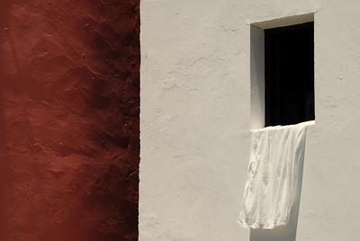 Fenster in Vueltas auf La Gomera