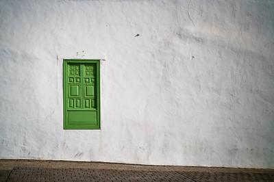 grünes Fenster