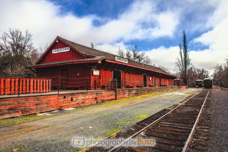 Jamestown Train Depot