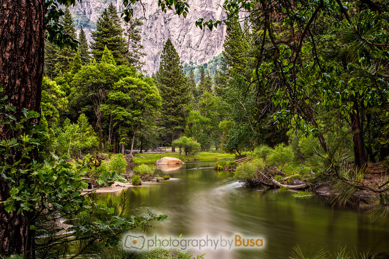 Merced River Through Yosemite Valley