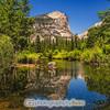 Serenity at Mirror Lake, Yosemite National Park.