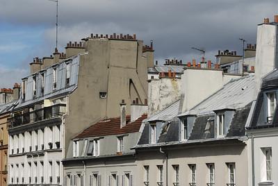 Paris, Wohnhaeuser