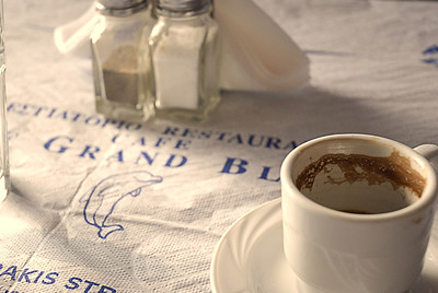 Im Caffee le Grand Bleu
