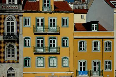 Fassaden in Lissabon