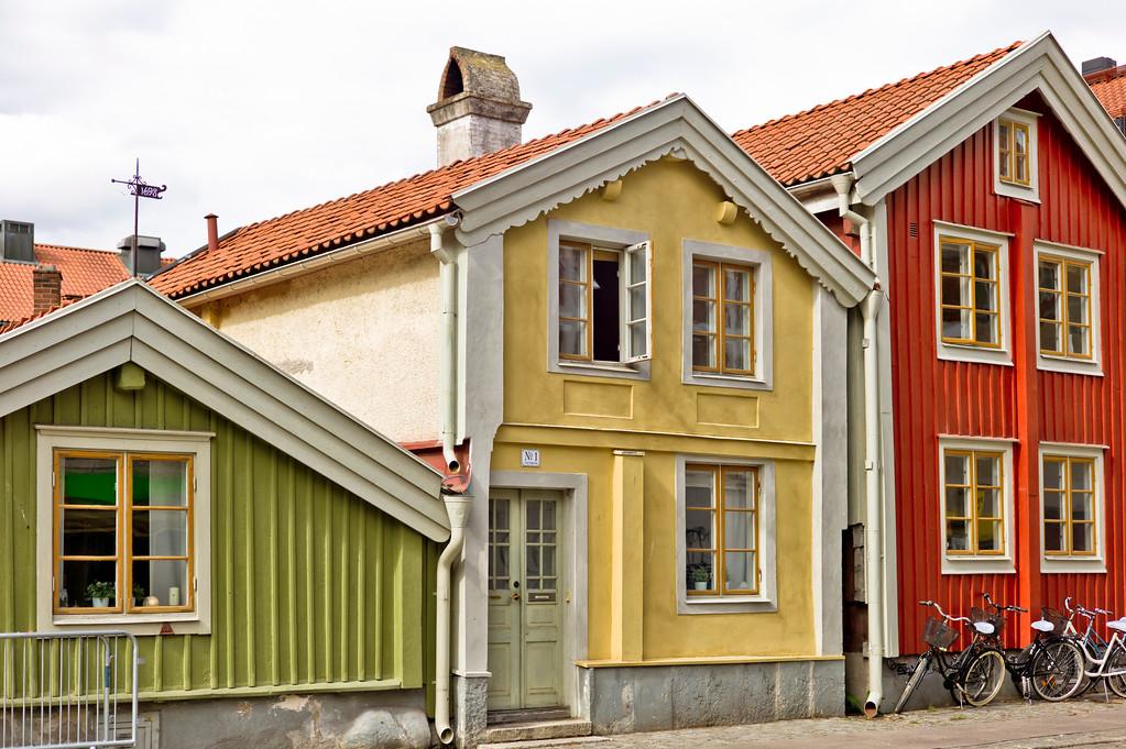 drei Häuser