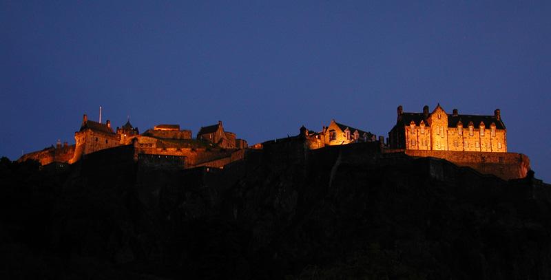EdinburghCastleatNight