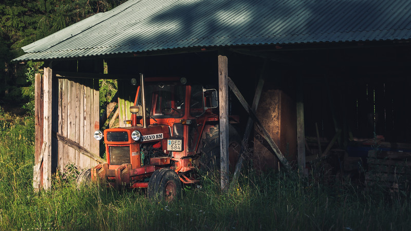 tractor in sweden