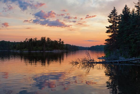 Lake of the Woods Sunset II