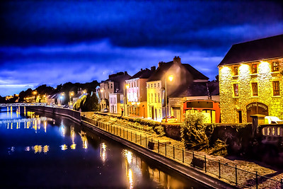Lights along the River Nore