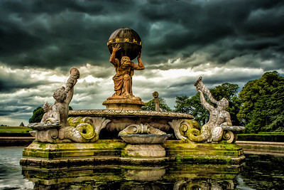 Garden Statue, Howard Castle, York, England