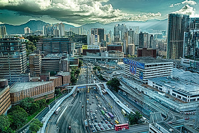 Busy Hong Kong