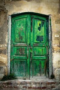 Old door, Matera, Italy