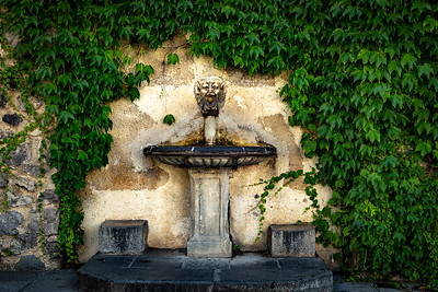 Fountain in a Piazza, Ravello, Italy