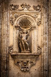 Angel and Skull, Chiesa Santa Maria Del Suffragio, Monopoli, Italy