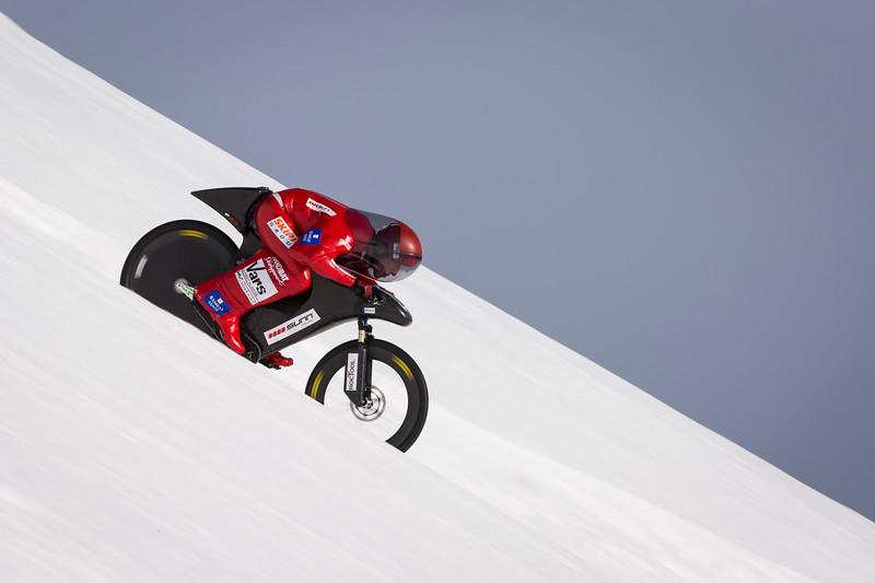 Éric Barone, World Speed Record / Vars, France, 2015