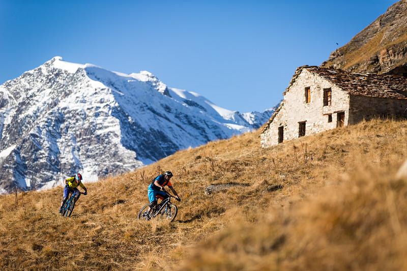 Autumn Mountain Bike ride / Tignes, France, 2016