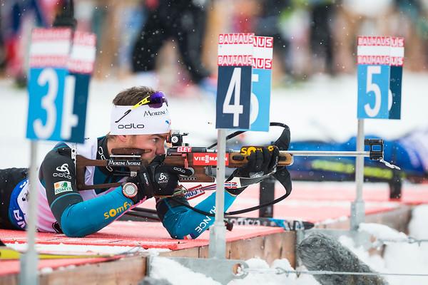 Antonin Guigonnat / Biathlon World Cup 2017 / Le Grand Bornand, France