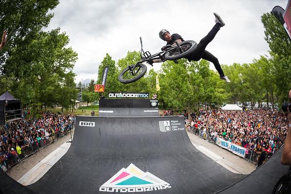 BMX Spine Contest, Outdoormix Festival / Embrun, France, 2018
