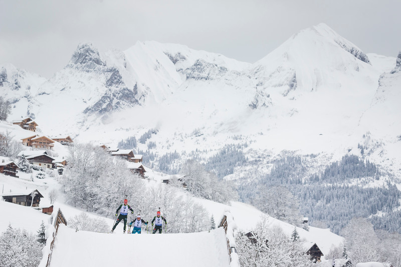 Biathlon World Cup 2017 / Le Grand Bornand, France