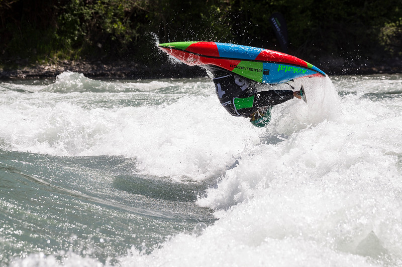 Kayak Freestyle, Outdoor Mix Festival / Embrun, France, 2017