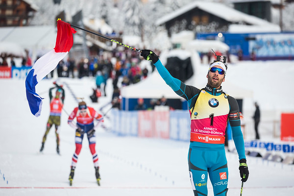 Martin Fourcade / Biathlon World Cup 2017 / Le Grand Bornand, France