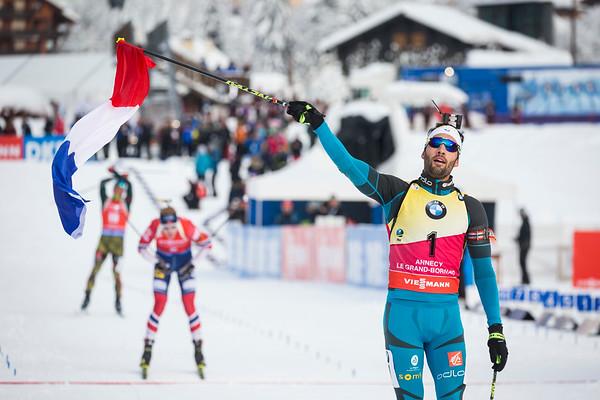 Martin Fourcade / Biathlon World Cup 2017 / Le Grand Bornand, France