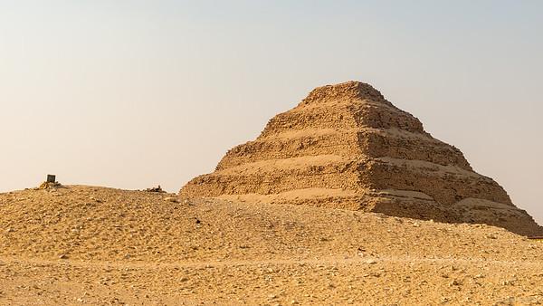 Djoser Pyramid in Saqqara