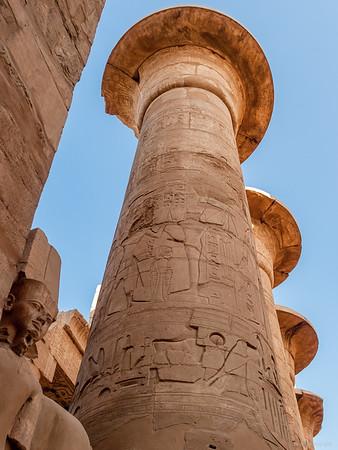 Hypostyl Säulengang