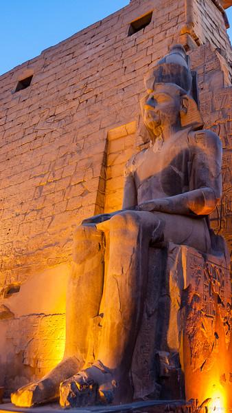 Statue Ramses II.