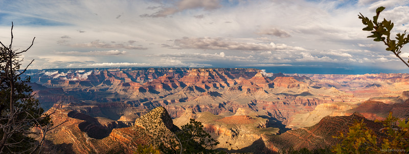Grand Canyon South Rim (6pics 8575x3229px)