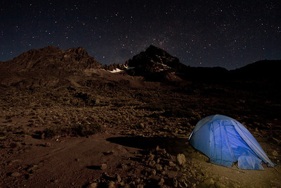 Camping on the moon