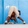 SANTIAGO DE CUBA. YOUNG CUBAN GUY DOING HIS EXERCISES. SANTIAGO DE CUBA PROVINCE. CUBA.