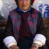 OLD LADY (77 YEARS OLD). SHANGRI-LA, YUNNAN. CHINA.