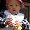 TIBETAN GIRL. SHANGRI-LA. YUNNAN. CHINA.