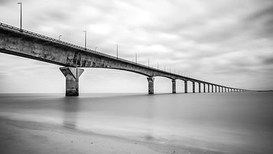 Puente entre La Rochelle y La Isla de Ré
