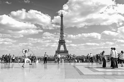 Torre Eiffel de la Plaza del Trocadero