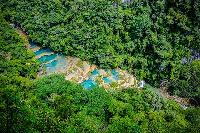 Semuc Champey river, near Coban - Guatemala