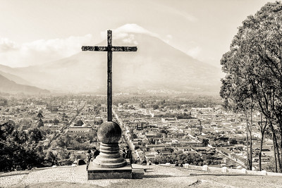 Colonial town of Antigua Guatemala