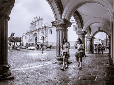 Cathedral of San Jose - Central Park, Antigua Guatemala